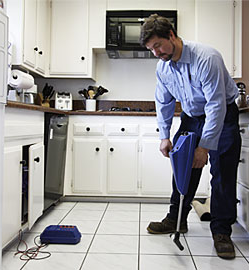 leak detection is one of our specialties